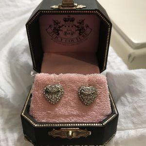 Juicy Couture stud earrings